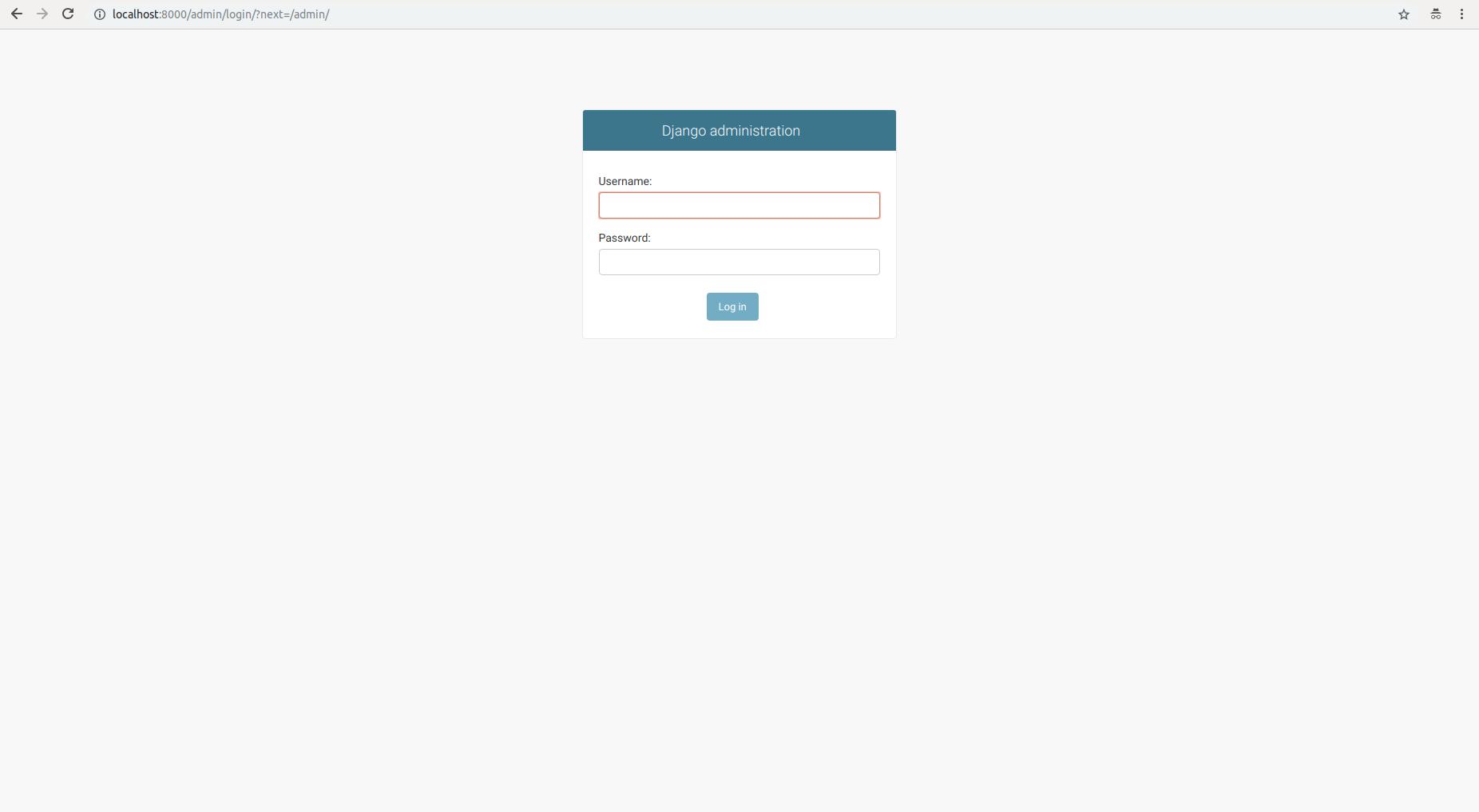 Set up the Django admin site: Configure and install the