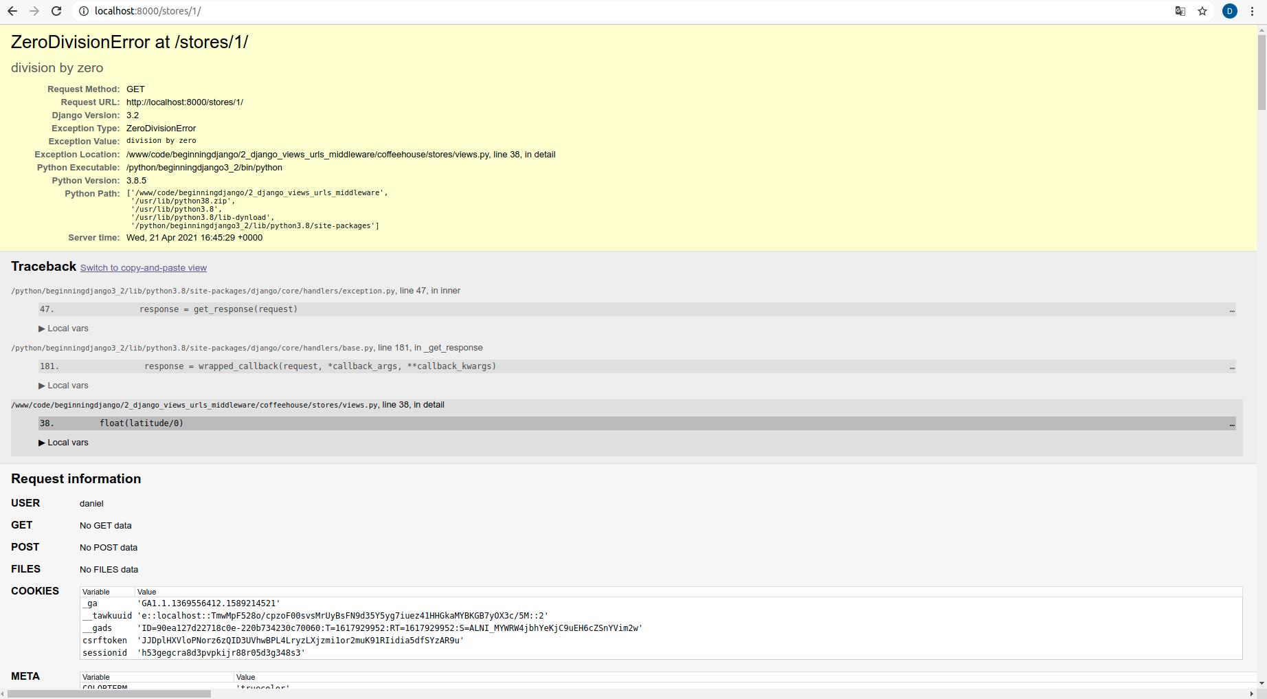 Django view method middleware: Built-in middleware classes